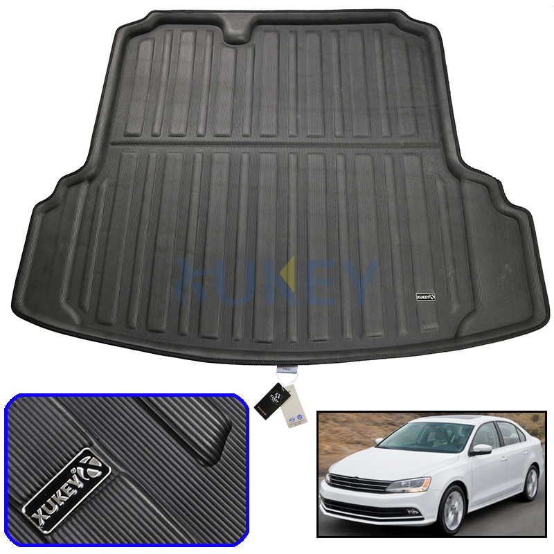 Automobiles & Motorcycles For 2011-2018 Volkswagen Vw Jetta Cargo Boot Liner Rear Trunk Mat Tray Floor Carpet Protector 2012 2013 2014 2015 2016 2017 Floor Mats
