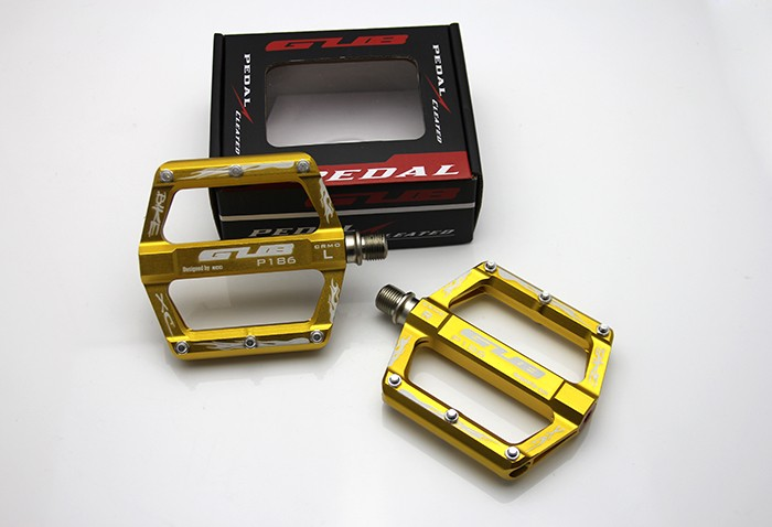 GUB 186 Pedals Mountain Bike Pedal MTB Road Cycling Alloy Aluminum Pedal bicycle pedal rockbros 9 16 magnesium alloy bicycle pedal titanium spindle ultralight mountain bike pedal 5 colors