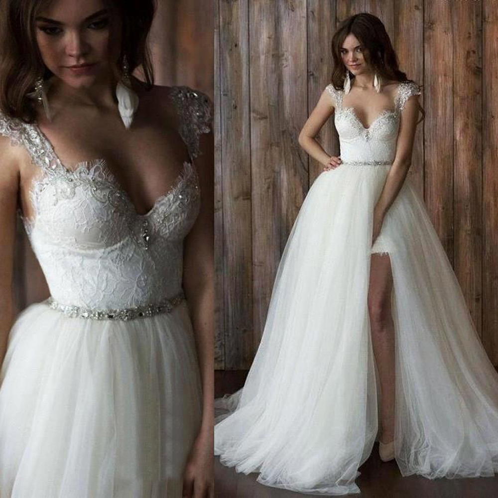 bridal trends wedding dresses with detachable skirts detachable wedding dress Wedding Dress by Berta Spring Bridal Collection