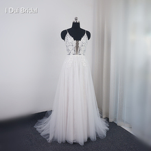 I DUI Bridal A line Muse Wedding Dress Neckline