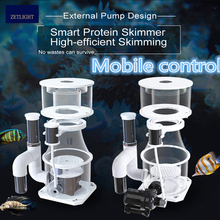Zetlight WIFI Protein separator controlled by mobile phone.Water protein separator fish tank filter water tank demister