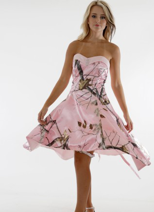 Aliexpress.com : Buy sweetheart realtree pink camo prom dress 2017 ...
