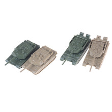 4D New Arrival 1pcs/lot 1:144 World War II Tanks Plastic Assembly Model Tanks Toy Sand Table Model World of Tanks Collection(China)