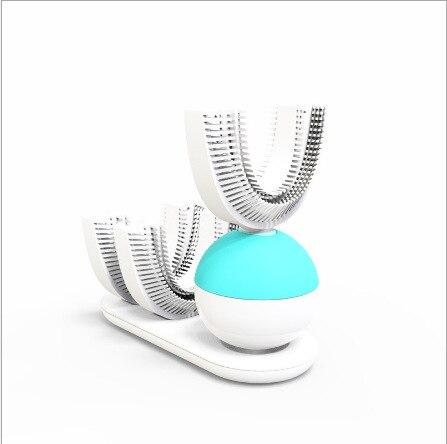 360 brosse à dents automatique brosse à dents électrique Ultra sonique brosses à dents sonique brosse à dents électrique Rechargeable blanc bleu nouveau - 2