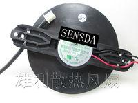 Frete grátis original 2 linha ventilador de refrigeração mudo. TD8025LS-P 0.20A 90 pitch MM 75 MM pás do ventilador