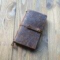 Портативный размер натуральная кожа многоразовый журнал блокнот планировщик дневник бизнес-блокнот ручной работы для путешественников