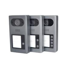 DH โลโก้หลายภาษา VTO3211D P/P2/P4 POE (802.3af) โลหะ IP doorbell, ประตูโทรศัพท์ doorbell วิดีโอ IP Intercom,SIP เฟิร์มแวร์