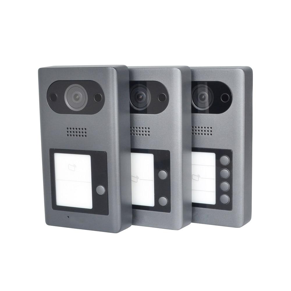 DH logo Multi-language VTO3211D-P/P2/P4 PoE(802.3af) IP Metal Villa doorbell ,Door Phone,doorbell,IP Video Intercom, cloud