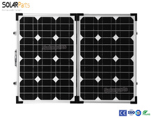 Foldable high efficiency solar panel power 70W charge mobile phone tablet and digital camera RV motor