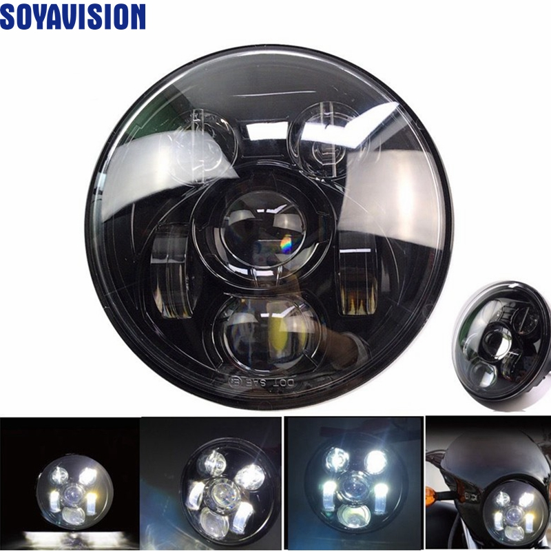 for harley davidson street 750 led headlight 5 3 4 harley. Black Bedroom Furniture Sets. Home Design Ideas