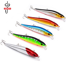Hard Lures Fishing Lure Minnow Plastic Fake for Bait 14cm/23g 4# Fish Hook