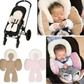 Novo suporte para o corpo Do Bebê carrinho de criança assento de carro almofadas de apoio do corpo amor cumprimento crianças fundamento do bebê travesseiro de viagem infantil manter seguro
