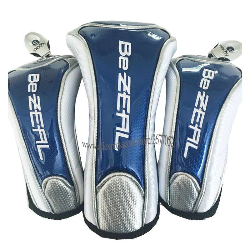 New HONMA Golf Wood Head Cover High Quality Clubs Head Cover Blue Color Club Driver Golf Headcover Cooyute Free Shipping