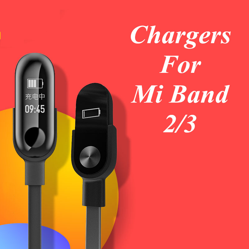 Chargers For Xiaomi Mi Band 2 3 Charger Cable Data Cradle Dock Charging Cable USB Charger Line For Xiaomi MiBand 2 3