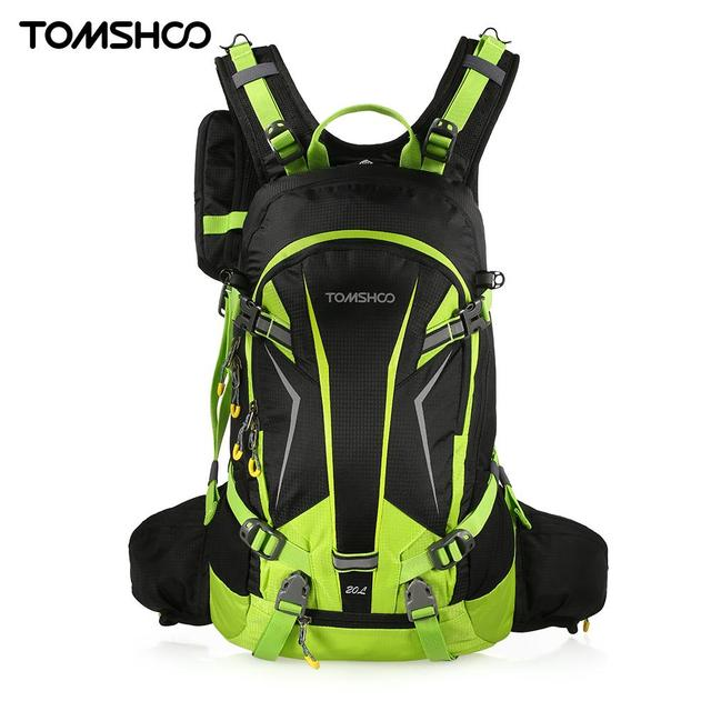 80efb54ebb57 TOMSHOO 20L Waterproof Cycling Backpack Climbing Rucksack Pack Outdoor Bag  Travel Hiking Backpack Daypack with Rain