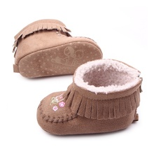 2018 New First Walkers Baby Shoes in Autumn and Winter with
