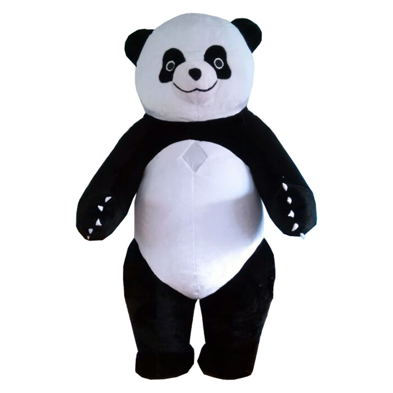 Panda mascot For Advertising 3M Tall Customize For Adult cartoon character mascots for sale mascotte costumes adulte inflatable