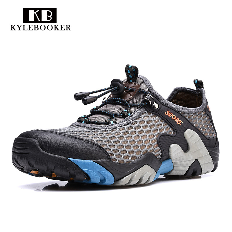 Men Breathable  Fly Fishing Shoes Water Sports Upstream Shoes Summer Hiking Outdoor Sneakers Walking Trekking Aqua Shoes Men Breathable  Fly Fishing Shoes Water Sports Upstream Shoes Summer Hiking Outdoor Sneakers Walking Trekking Aqua Shoes
