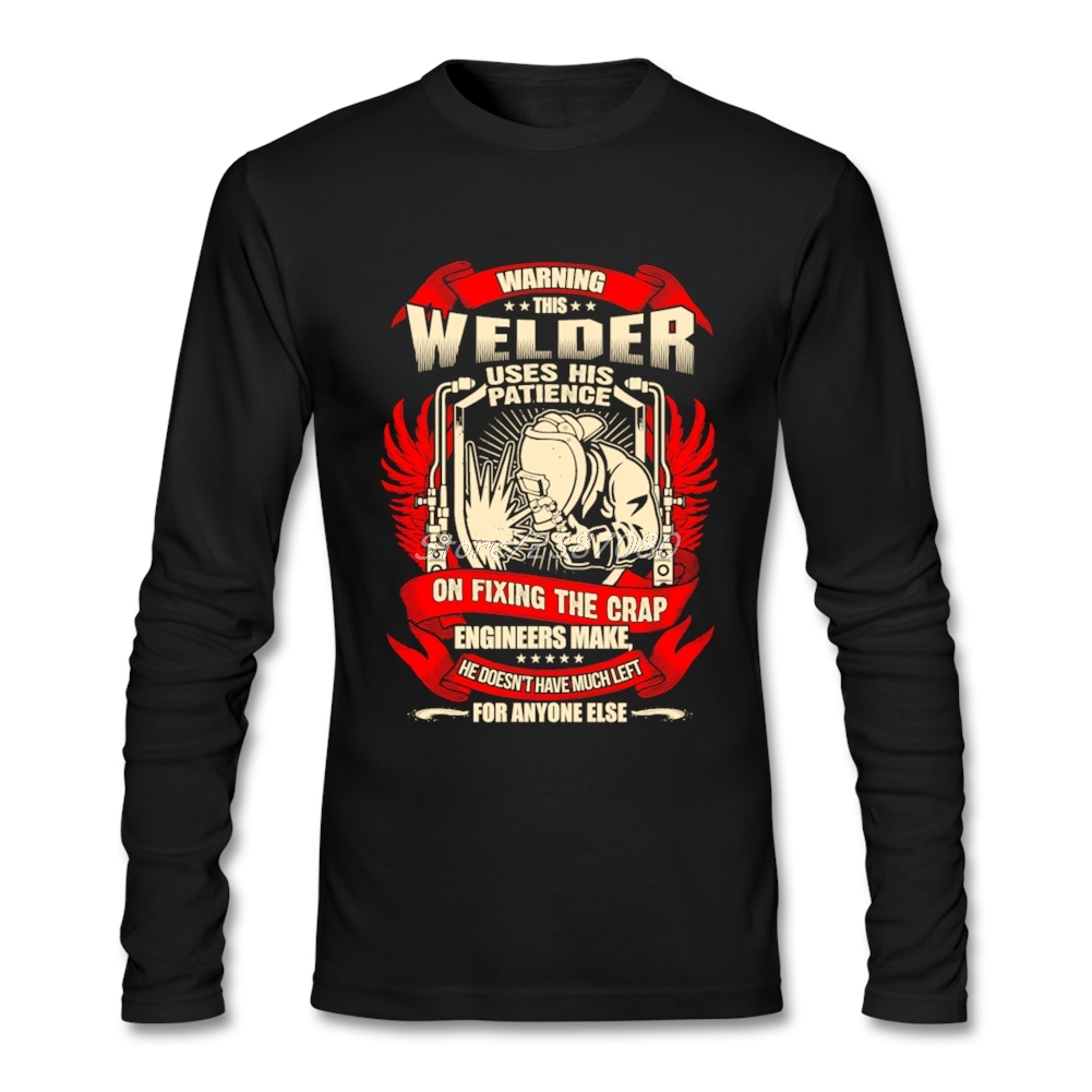0327b38f Detail Feedback Questions about New Style Welders Vintage T Shirt Rock T  shirts O neck Cotton Long Sleeve T Shirts For Boys on Aliexpress.com |  alibaba ...