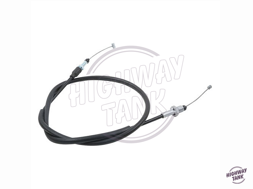 1 Pcs Black Motorcycle Throttle Cable Wire Line Gas Moto