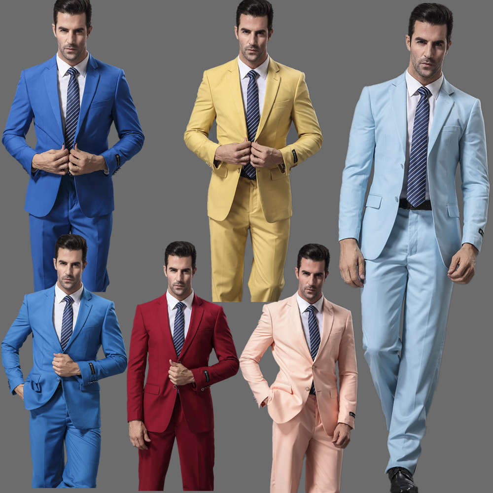 Aliexpress.com : Buy 2016 New Design Wedding Men Suits Slim Fit ...