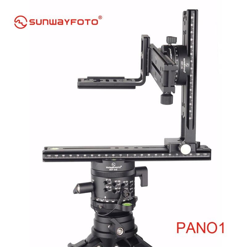 SUNWAYFOTO PANO-1 панорамный штатив для Dslr 360 Panoramas Профессиональный алюминиевый панорамный штатив с шаровой головкой