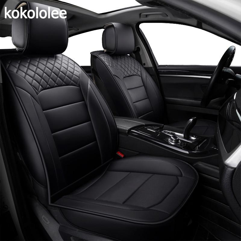 [Kokololee] de la pu cubierta de asiento de cuero de coche para passat b5 kia ceed mercedes w203 citroen c5 renault logan lada granta ix25 coche-estilo