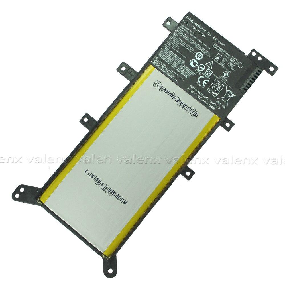 Aufrichtig 7,5 V 37wh Batterie C21n1347 Laptop Batterie Für Asus X555 X555l X555ld X555l F555ua F555ub Y583ld F555uj F555uf K555l 2icp4 /63/134 Delikatessen Von Allen Geliebt