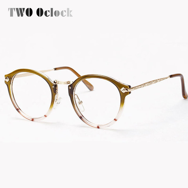 00fff33622d Fashion Arrow Eyeglasses Frame With Clear Lens