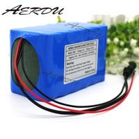 AERDU 3S6P 15Ah 11.1V 12v 250watt lithium ion battery Pack 12.6V Hunting lamp xenon Fishing Lamp backup power with 25A BMS