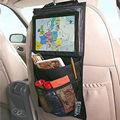 30*50 cm crianças bebê saco pendurado auto voltar organizador do assento de carro assento de carro ipad titular multi-bolso bolsa de viagem de armazenamento pendurado