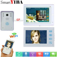 SmartYIBA 72 Monitors Wired /Wireless Wifi Video Door Phone Video Intercom Door Intercom Doorphone IR Night Vision Camera