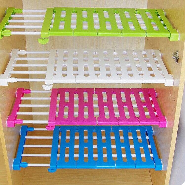 Online Shop Kitchen Organizer Wardrobe Storage Layered Separator ...