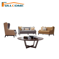 China Luxury Home Furniture Modern Fabric Scandinavian Sofa Living Room Chesterfield Italian Sofa Loveseat American Tiger Chair