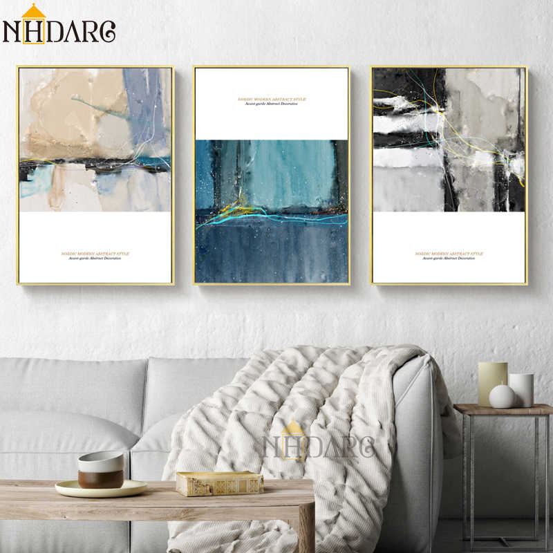 Modern Nordic Casual Luxury Style Abstract Posters and Prints Canvas Painting Art Wall Pictures For Living Room Home Decoration