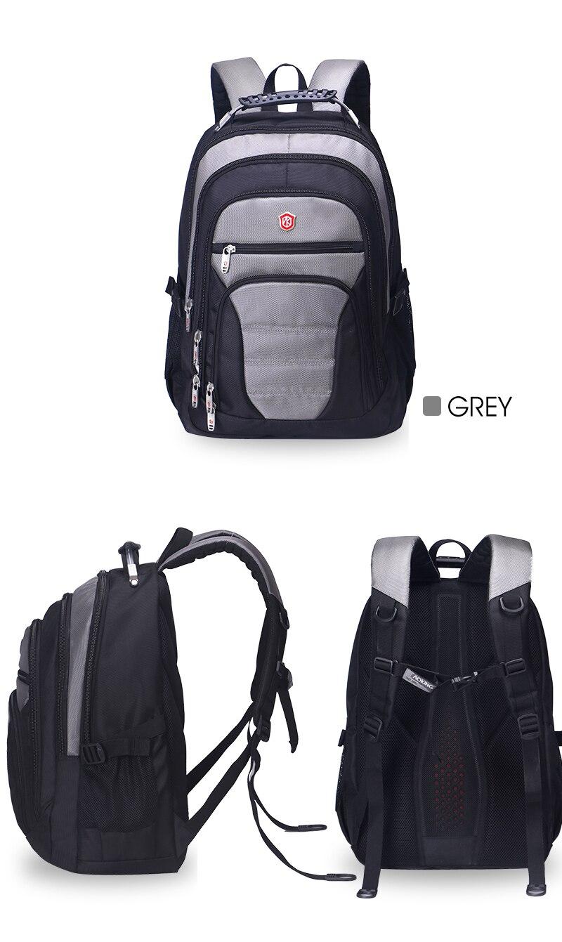 Aoking Original Brand New Patent Design Massage Air Cushion1 Men's Laptop Backpack Men Large Capacity Nylon Comfort Backpacks 16