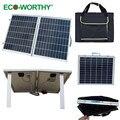 EE.UU. stock 1 unids 40 W 18 V Policristalino Del Panel Solar Plegable con Bolsa de Panel para Autocaravanas, comodidad al aire libre