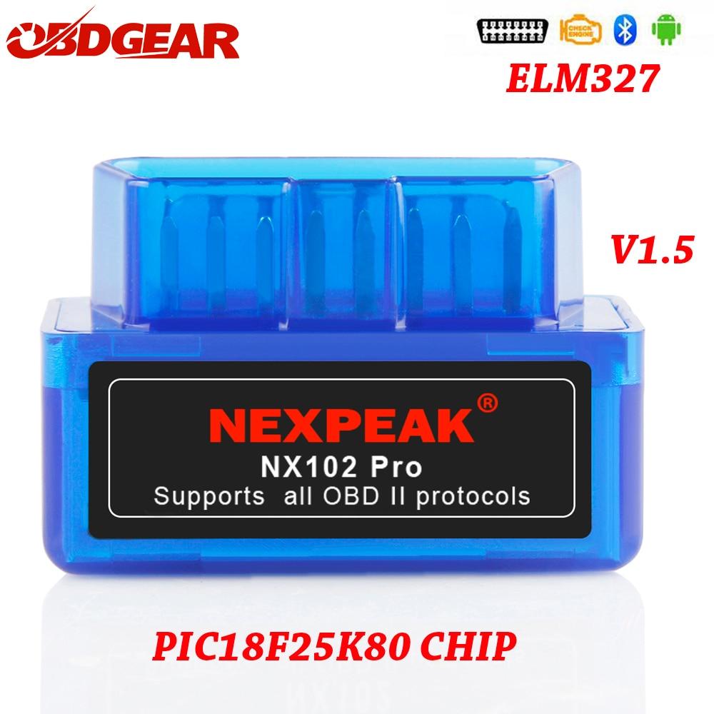 V1.5 Super MINI ELM327 Bluetooth ELM 327 Version 1.5 With PIC18F25K80 Chip OBD2 / OBDII for Android Torque Car Code Scanner ODB2V1.5 Super MINI ELM327 Bluetooth ELM 327 Version 1.5 With PIC18F25K80 Chip OBD2 / OBDII for Android Torque Car Code Scanner ODB2