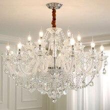 Moderne éclairage lustres maison décorateurs Collection lumière candélabres cristal pendentif lustre salle à manger lampes chambre