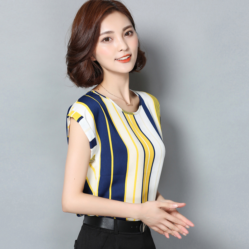Popular Short Sleeve Blouses Ol Work Wear Tops-Buy Cheap Short ...