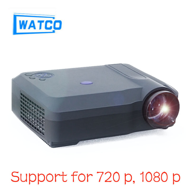 Original DE WATCO LE058 Mini Proyector Full Hd 1080 p de Video LED Proyector 4200 Lúmenes de Cine En Casa Hdmi Proyector LCD Multimedia USB