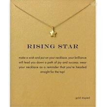 Модное ожерелье со звездами женская подвеска цепочка до ключиц