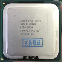 Intel Xeon E5450  SLBBM Quad-Core Processor close to LGA775  CPU, works on LGA 775 mainboard no need adapter