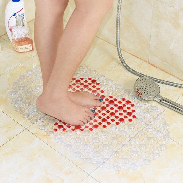 WC Vasca da bagno Antiscivolo Doccia Zerbino Doccia IN PVC Zerbino Del Fumetto Anti Slip Zerbino per il Bagno di Massaggio Del Piede Tappeto Decorazione per wc Bagno