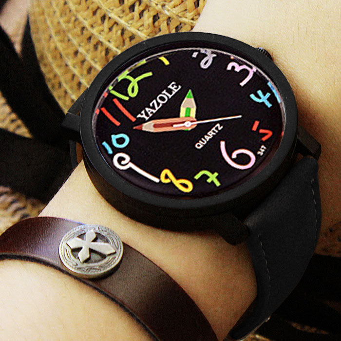 YAZOLE Fashion Quartz Watch Women Watches Ladies Brand Famous Wristwatches For Female Wrist Clock Montre Femme Relogio Feminino yazole watches men quartz watch female male wristwatches quartz watch relogio masculino feminino montre femme christmas gift c92