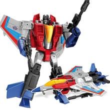 Coche Robot de juguete transformable de 19CM para niños, figura de acción de Anime, tanque de dinosaurio, Avión de plástico ABS, modelo militar