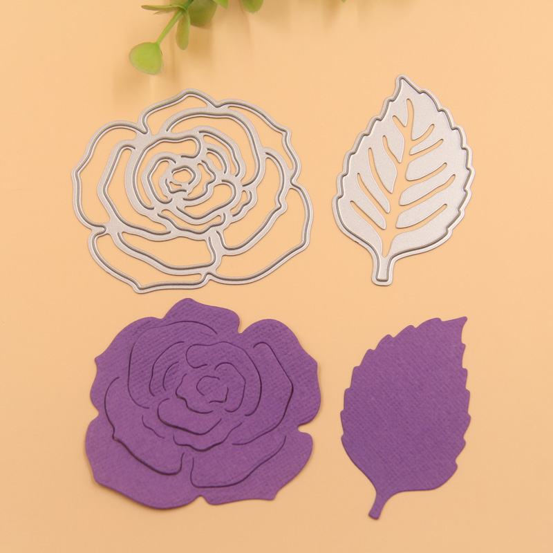 Kljuyp rose flowers metal cutting dies stencils for diy scrapbooking kljuyp rose flowers metal cutting dies stencils for diy scrapbookingphoto album decorative embossing diy paper cards in cutting dies from home garden on mightylinksfo