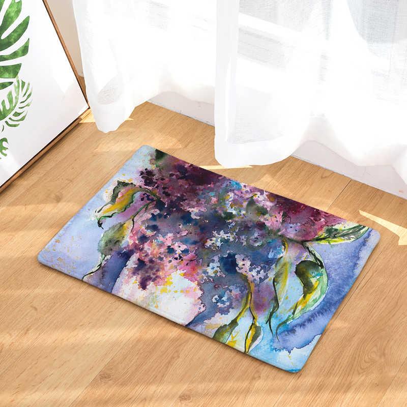 Приграничный Laiwu 3d печать ковров картина маслом цветок спальня дома гостиная ковер мультфильм печать коврики на заказ