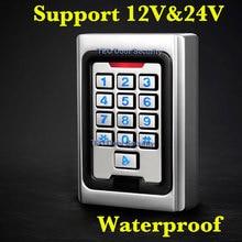 Подсветка клавиатуры металлический доступ 2000 использование rs 125 кГц RFID система контроля доступа на открытом воздухе 9 до 28 Wiegand 26 бит Быстрая скорость