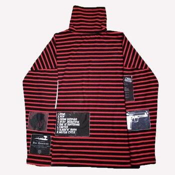 8a1857342a3 KPOP BTS Bangtan мальчики с изображением чимина и шуги Большой взрыв GD  G-Dragon та же водолазка полосатая худи Толстовка с капюшоном хип-хоп  куртка в ул.